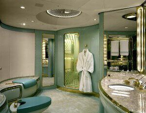 Luxury Aircraft Bathroom