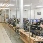 Aria PC, Office Refurbishment