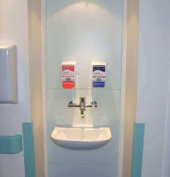 Designed Hand Wash Station at Cancer Care Ward