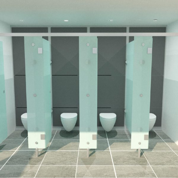Serpentine Washroom Interior