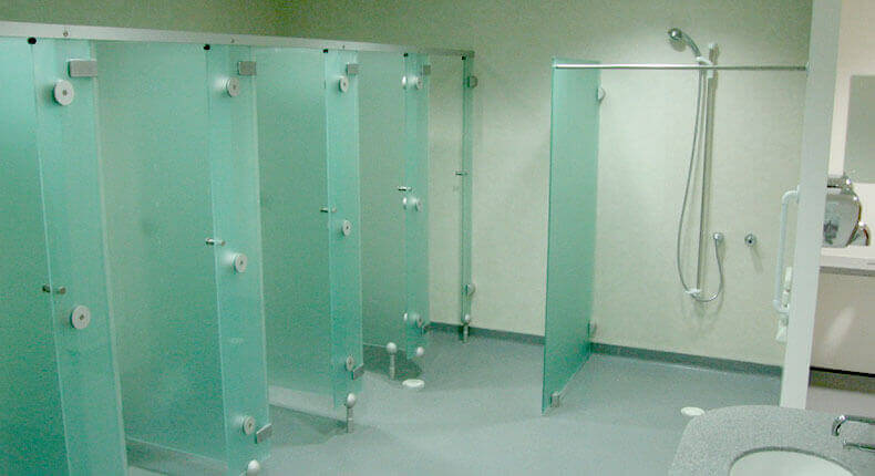 Creating a contemporary shower room for your gym spectrum interiors