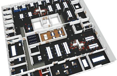 CAD Designed Office