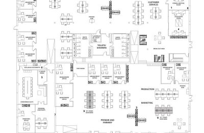Office Design Blueprint